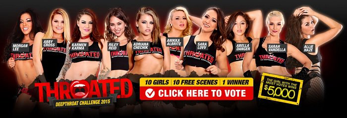 Throated challenge vote allie haze - 1 part 9
