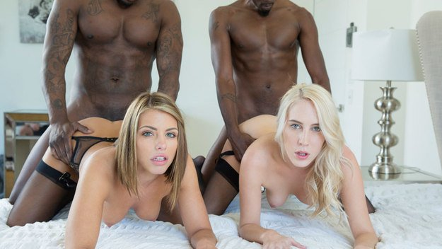 interracial foursome