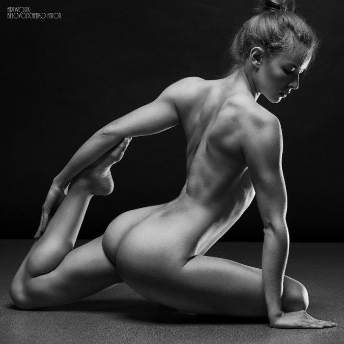 Nude black woman video